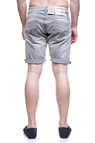 Kaporal -  Pantaloncini  - Uomo Grigio