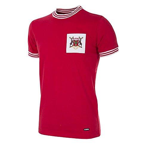 66-67 Nottingham Forest Retro Trikot - S