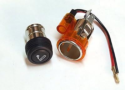 Orange Bernstein Zigarettenanzünder & Steckdose universal 12V