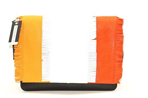 Tosca Blu , Sac pour femme à porter à l'épaule Multicolore multicolore 33x11x24cm