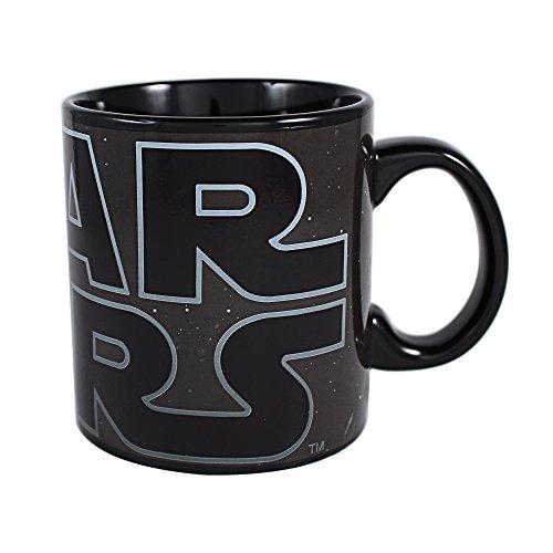 Star Wars Classic Logo 20 oz Heat Reveal Jumbo Ceramic Mug Standard