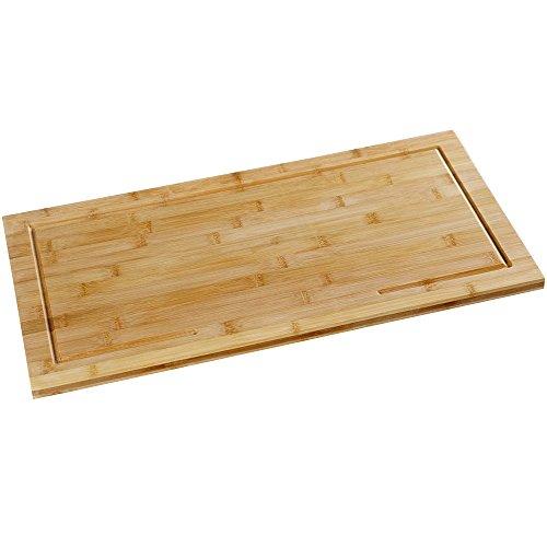 Kesper Herdabdeckplatte, Holz, Braun, 50 x 28 x 4.5 cm