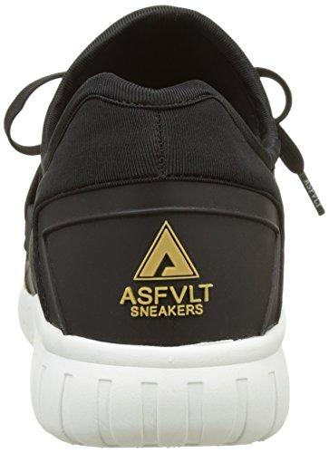 Asfvlt Area Lo, Scarpe da ginnastica Unisex – Adulto Noir (Black Tan Nuts)