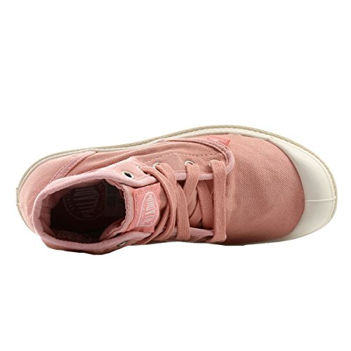 Palladium PAMPA HI~SALMON PINK/PUTTY~M 92352-670-M Damen Schnürhalbschuhe raspberry-marshallow (92352-633)