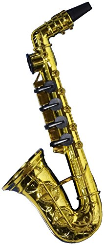 Forum Novelties Gold Saxophon Party Kazoo Spielen Musikinstrument