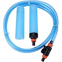 Taiyo Pluss Discovery Fish Tank Siphon Semi-Automatic Water Changer Aquarium Sand Washing Cleaner Filter/Suitable for Above 3 FEET Tanks/TAIYO PLUSS DISCOVERY