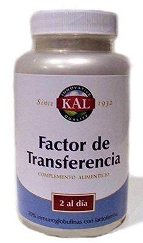 Factor de Transferencia Kal 60 cápsulas de Solaray