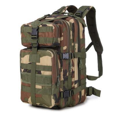 Dlflyb 35 L Neu 3P Angriff Taktik Rucksack Camouflage Bergsteigen Tasche Jungle camouflage