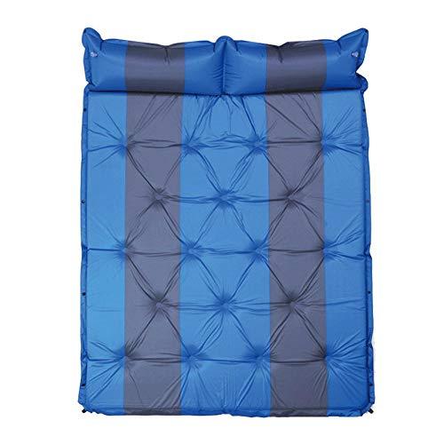 decaden Selbstaufblasende Isomatte,Isomatte Camping,Auto-kampierende Luftmatratze-Selbstexplosions-Bett-aufblasbare Matratze Hob Luftmatratze An Selbstaufblasbare Luftmatratze