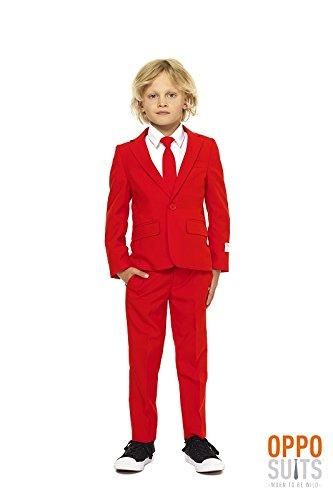 Generique Mr. Rouge Teufel Anzug für Teenager Opposuits Rot 170/176 (16-18 Jahre) (Roten Anzug Teufel Kostüm)