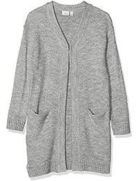 ONLY Damen Oversize Strickjacke Jacke onlPEARL LONG CARDIGAN schwarz blau NEU