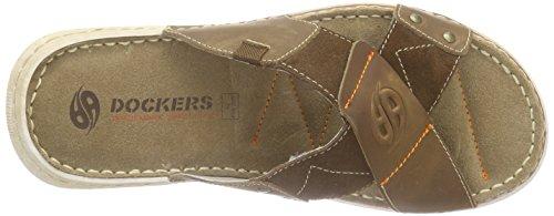 Dockers by Gerli 38sd003-402 Herren Pantoletten Braun (braun 300)