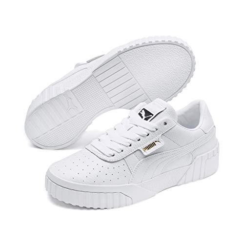 Puma Cali Wn's, Zapatillas para Mujer Blanco (Puma White-Puma White 01) 38.5 EU