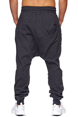 Tazzio -  Pantaloni sportivi  - Uomo Anthrazit