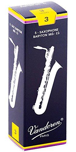 Vandoren Classic - Blätter für Bariton Saxophon - Stärke 3,0