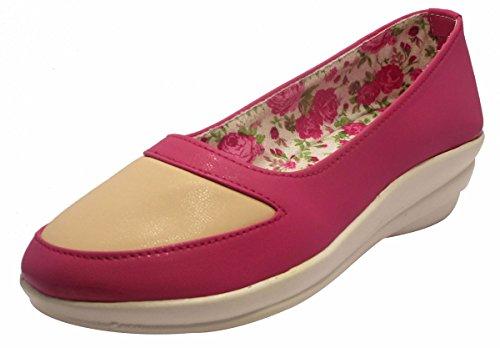 Sammy chaussures pour femmes occasionnels consolent loafer élégant slip-on appartements chaussures Rose