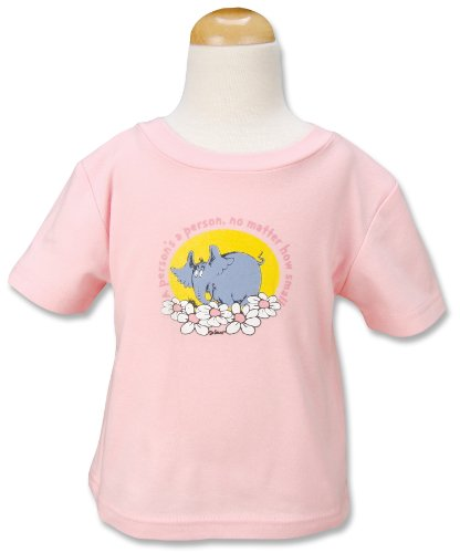 Trend Lab Dr. Seuss T-Shirt, Horton, Pink, 12 Months by Trend Lab