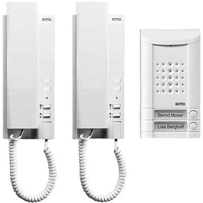 RITTO 16732/70 Minivox Wohntelefon-Set 2WE weiss von Ritto bei Lampenhans.de