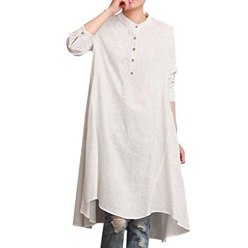 Yesmile Damen Kleider Kaftan Baumwolle Lange Kleider Frauen Petticoat Sommerkleid Mode Jumpsuit...
