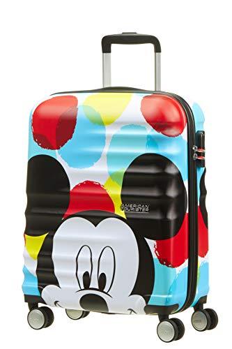 American Tourister Disney Wavebreaker - Maleta Infantil, Spinner S (55 cm -...