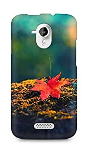 Amez designer printed 3d premium high quality back case cover for Micromax Canvas HD A116 (autumn leaf nature)