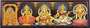 Generic Wood Religious Photo Frames, multicolour, Large