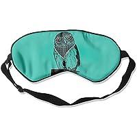 Comfortable Sleep Eyes Masks Animal Owl Pattern Sleeping Mask For Travelling, Night Noon Nap, Mediation Or Yoga preisvergleich bei billige-tabletten.eu