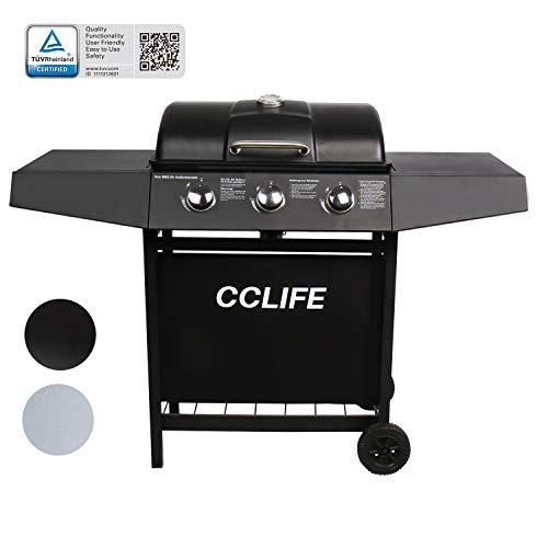 CCLIFE Brûleur gaz Barbecue à gaz BBQ Barbecue...