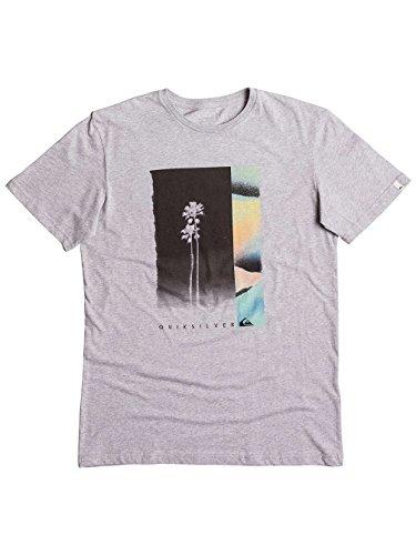 Quiksilver Herren Ss Tee Classic Meridian-T-Shirt highrise