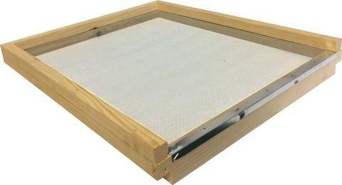 Langstroth Sol résistant pour Bee Hive- avec bloc d'entrée (Pin)