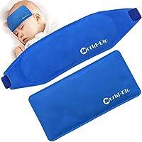 Eisbeutel Kalt Kinder Baby Fieber Reduzieren Kühlung und Linderung Migräne Kopfschmerzen, Set of 2 preisvergleich bei billige-tabletten.eu