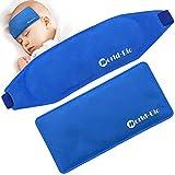 Eisbeutel Kalt Kinder Baby Fieber Reduzieren Kühlung und Linderung Migräne Kopfschmerzen, Set of 2