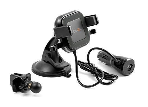Technaxx Wireless Car Charger TE17 Drahtlos Kfz Charger mit Smartphone-Halterung