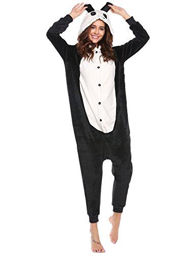 ADOME Damen Schlafanzüge Pyjama 3D Cosplay Kaninchen