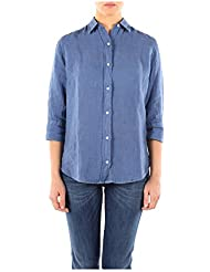 312023887125 Fred Perry Camisas Mujer Lino Blu