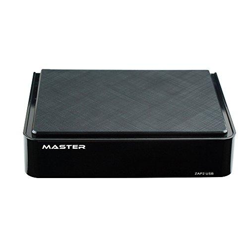 Mater ZAP2 - Decodificador digital (USB, HDMI, MP3, formato 16:9) color negro
