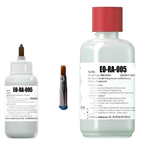 Preisvergleich Produktbild Extreme Reinigungskraft - Elektronik-Reiniger / Flux-Remover EO-RA-005,  50 ml in Dosierflasche mit Luer-Lock Bürste zzgl. 500 ml in Nachfüllflasche