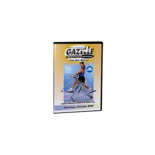 Tony Little\'s Gazelle Freestyle Crosstrainer Total Body Workout (low impact) Personal Trainer DVD