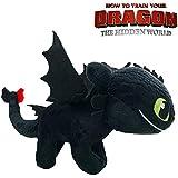 Play by Play HTTYD Dragons, como Entrenar a tu dragón - Peluche Desdentado (Toothless