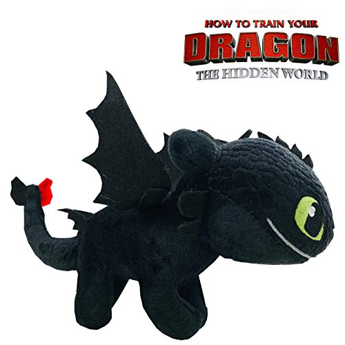 10 Cm How To Train Your Dragons 3 The Toothless Night Fury Toys Backpack Accessories Gifts For Kids Elegant In Style Toys & Hobbies