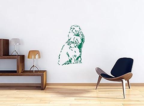 Taille Marmot Stickers muraux: 1200x800 murale mm_m, stickers muraux, stickers muraux de décoration pour le salon, chambre à coucher et la chambre des enfants
