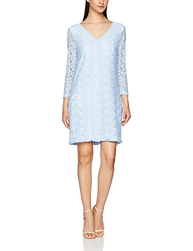 Great Plains Dandelion Lace Tunic Dress, Robe Femme Blue (Fresh Vintage Blue)