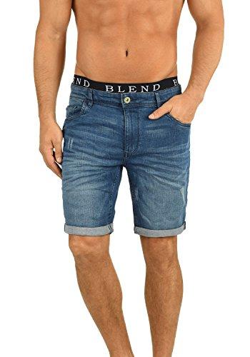 BLEND 20701976ME Jeans Shorts, Größe:L;Farbe:Denim middleblue (76201)