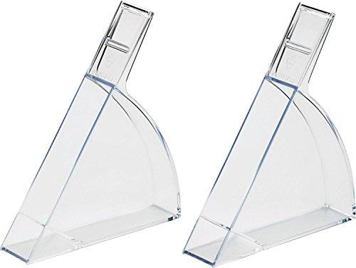 helit H6102902 - Atril para formato A4 y A5 (dos piezas), transparente