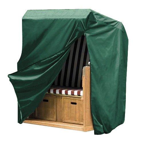 WOLTU GZ1160-c Housse de Protection pour Chaise de Plage résistante aux déchirures,Couverture Meubles de Jardin imperméable,135-165x125x90cm,Vert