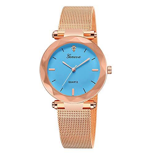 Uhren Damen Armbanduhr Mode Frauen Klassische Luxus Frauen Edelstahl Analog Quarz Analog Armbanduhr Mode Uhrenarmband,YpingLonk