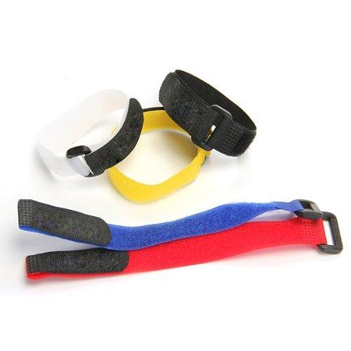 5PCS Bandas Correa Velcro Ajustable MTB