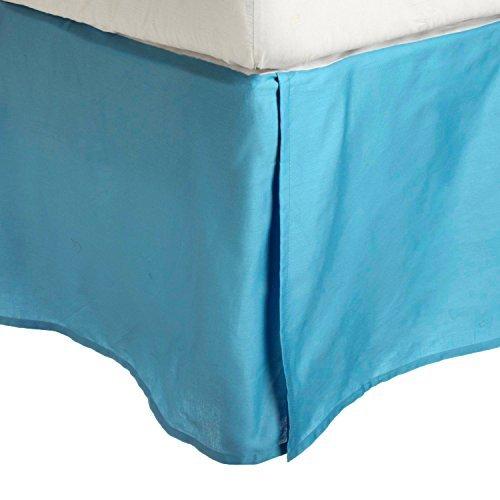100-brushed-microfiber-bed-skirt-twin-xl-aqua-wrinkle-resistant-pleated-corners-by-luxor-treasures