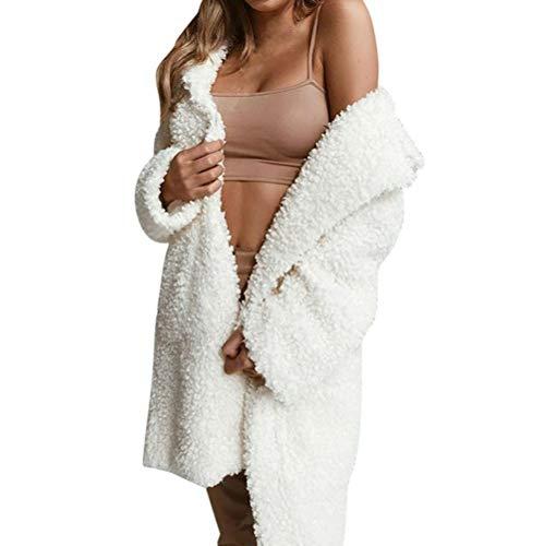 TianWlio Damen Mäntel Frauen Lässige Mode Winter Mäntel Mantel Elegante Dicke Warme Oberbekleidung Jacke Mantel