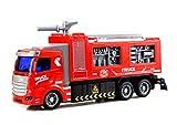 RC Feuerwehr - Ferngesteuertes Feuerwehrauto - Feuerwehr TLF -Grosses Tanklöschfahrzeug - Super Geschenk zu Weihnachten für kleine und große Feuerwehrmänner